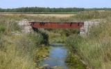 Järnvägsbron över Roma kanal 2013-08-21