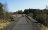 Järnvägsbron över väg 27, 2008-04-24