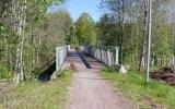 Järnvägsbron över vägen vid Matforsbron över Ljungan 2019-06-02