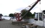 Järnvägskranen vid Askersunds hamn 2014-06-22