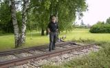 Järnvägsminne i Tollarp 2009-06-25