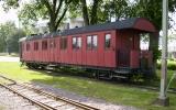 Järnvägsvagn i Vadstena 2011-06-23