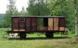 Järnvägsvagn vid Timansberg 2017-06-05