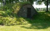 Jordkällaren i Hälleberga är allt som återstår av banvaktstugan 2013-07-15