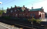 Kävlinge station från spårsidan, 2015-05-15