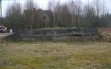 Lastkajen vid Fagerfors station 2014-04-06