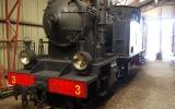 Lok KlRJ 3 Dalhem (Gotlands järnvägsmuseum i Dalmhem) 2013-08-19