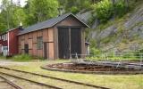 Lokstall vid Bengtsfors 2012-06-26