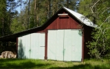 Lokstall vid Ydrefors 2012-05-25