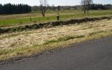 Mellan Tranemo och Limmared gick den smalspåriga järnvägen parallellt med den normalspriga 2011-04-22