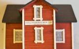 Modell av Svartbäcken station 2018-06-24