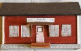 Modell av Tallås station 2018-06-24