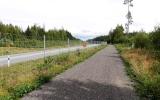 Nya sträckningen läng 25:an vid Ljungby 2017-09-02