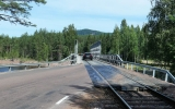 Oxbergsbron kombinerad väg- och järnvägsbro 2018-06-27
