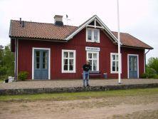 Piksborg station, Karlshamn-Vislanda-Halmstads Järnväg