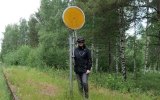 Plåtstins vid Fredriksfors 2018-06-19