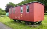 Postvagn i Hovmansbygd 2011-06-21