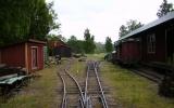 Räls med 600 mm spårvidd vid Lakvik 2011-06-25