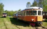 Rälsbuss, Y7, i Strömsnäsbruk 2008-05-11