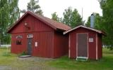 Rekonstruktion av tidigare lokstall i Fryksta 2013-06-21