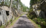 Skärning mellan Lenhovda och Sävsjöström 2014-08-10