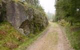 Skärning norr om Svarthövden 2008-05-01