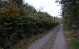 Skärning söder om Svarthövden 2013-10-13