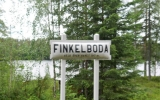 Skylt Finkelboda 2018-06-24