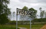 Skylt vid Ivösjön vid Axeltorp 2009-05-22