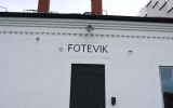 Skylten på Foteviks station 2014-04-18