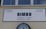 Skylten på Rimbo station 2016-06-25