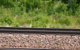 Skylten vid Svartå station 2014-06-21