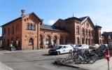 Slagelse station, från gatan 2018-08-10