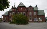 Sölvesborg station från gatusidan 2009-05-22