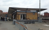 Stationen vid Linneplatsen 2013-05-04