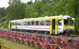 Tåg vid Bengtsfors 2012-06-26