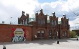 Teckomatorp station från gatan 2016-04-24