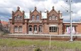 Teckomatorp station från spårsidan 2016-04-24