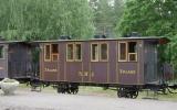 Tredjeklassvagn från Stockholm-Rimbo Järnväg 2016-06-26