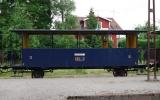Tredjeklassvagn från Uppsala-Länna Järnväg 2016-06-26