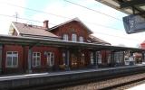 Trollhättan station från spårsidan 2013-05-03