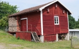 Uthus vid Eriksdal station 2015-07-04