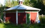 Uthus vid Lannaskede station 2012-08-17
