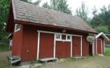 Uthus vid Svedens banmästarbostad 2016-07-02