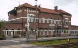 Värnamo station från spårsidan 2009-07-05