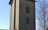 Vattentorn vid lokstallet i Klippan 2013-04-21