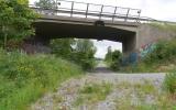 Viadukt över banvallen vid Ansta 2015-06-23