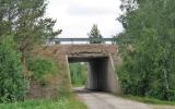 Viadukt under E4:an vid Vattrång 2018-06-18