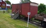 Järnvägsvagn i Lerbäcks hembygdspark 2014-06-22