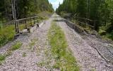Timmervägen mellan Hemsjön och Svartå med järnvägsbro 2014-06-21